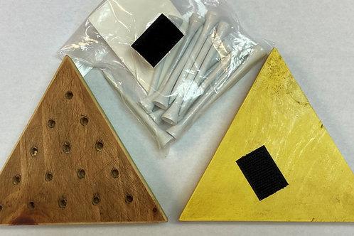 Triangle Peg Game