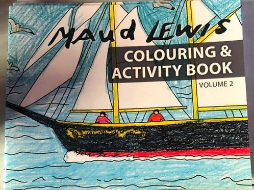 Maud Lewis Colouring and Activity Book Vol 2