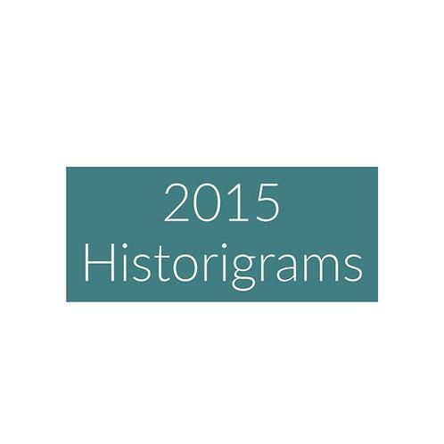 2015 Historigram articles
