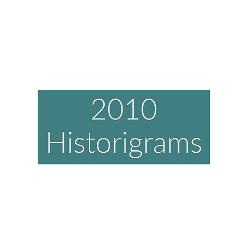2010 Historigram newsletters