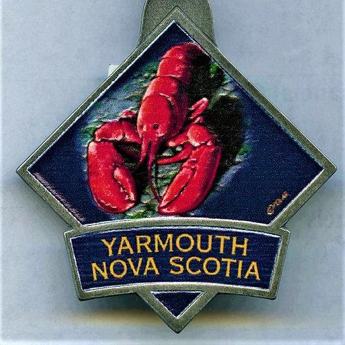 Yarmouth, Nova Scotia Keychain