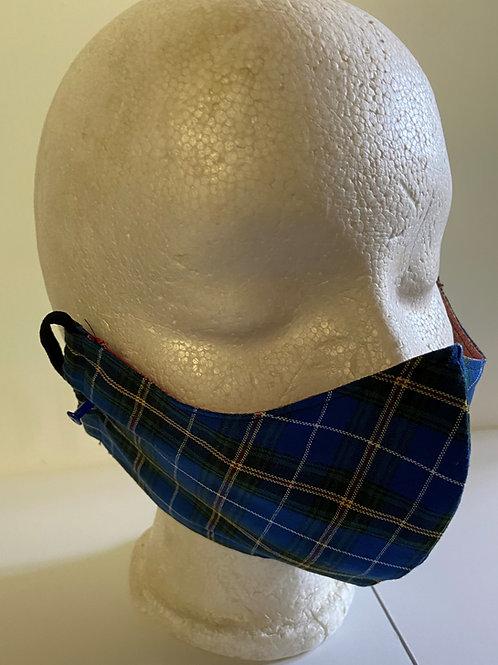 Nova Scotia Tartan Mask