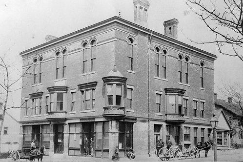 Boston Marine Hall archival package