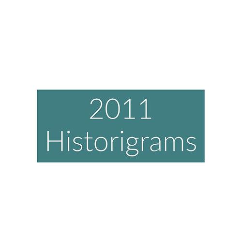 2011 Historigram newsletters