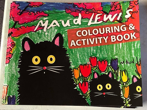 Maud Lewis Colouring and Activity Book Vol 1 & Vol 2