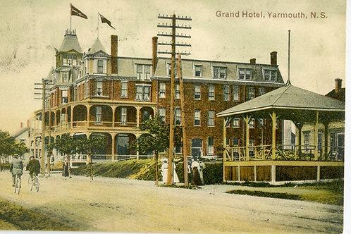 The orginal Yarmouth Grand Hotel
