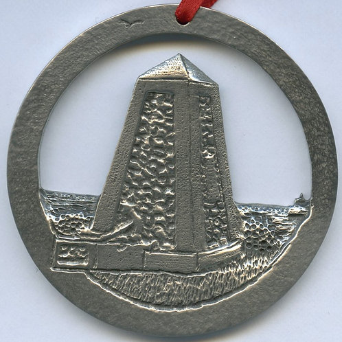 Pewter Ornament (Fish Point Monument)