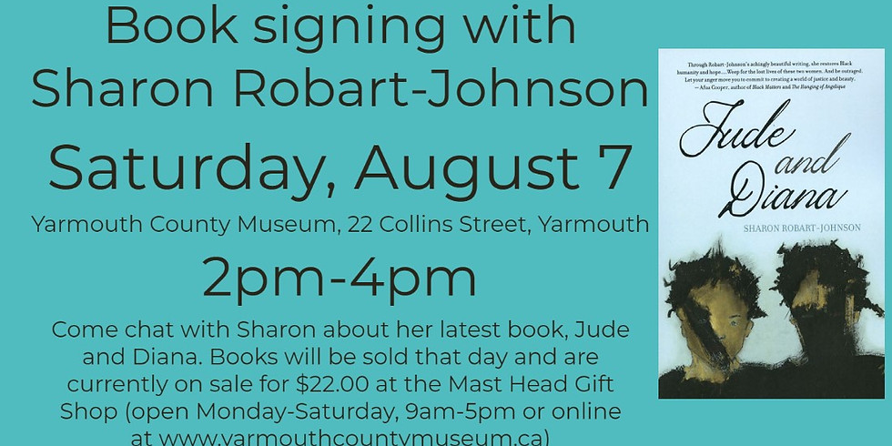 Book signing with Sharon Robart-Johnson