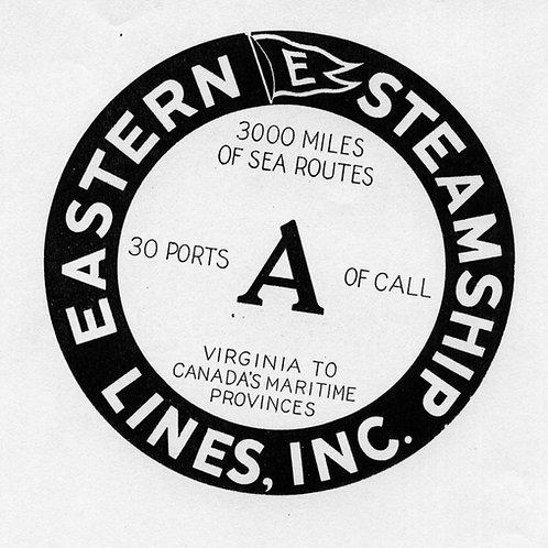 Eastern Steamship Line archival package