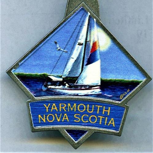 Yarmouth Nova Scotia keychain