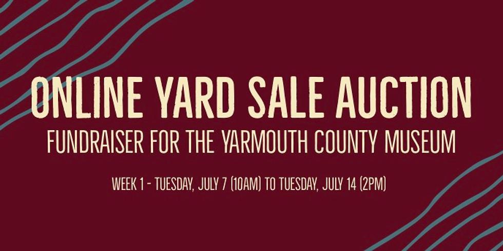 Online Yard Sale Auction (Week 1)