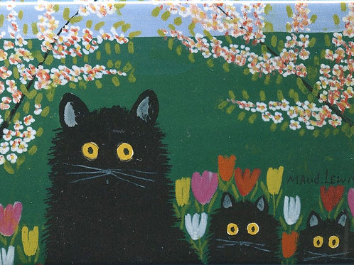 Maud Lewis inspired magnets