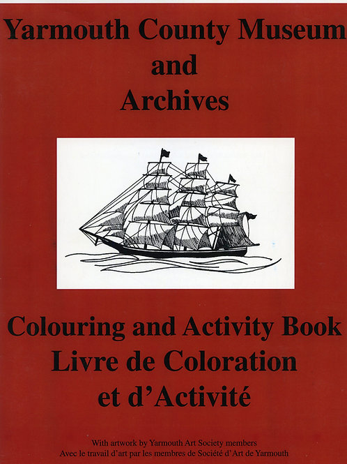 Museum Colouring and Activity Book