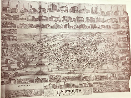 1889 Map of Yarmouth