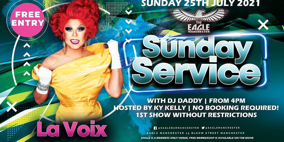 La Voix does Sunday Service