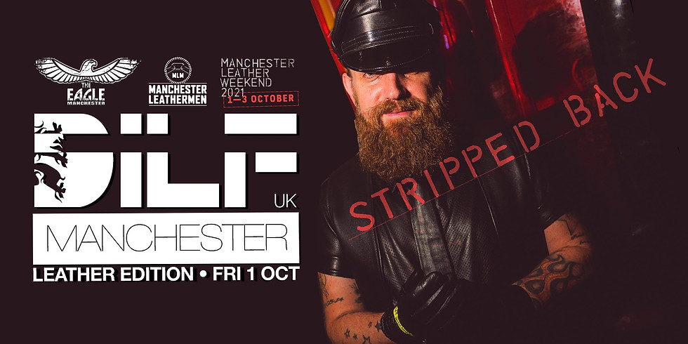 DILF Manchester: Leather Edition