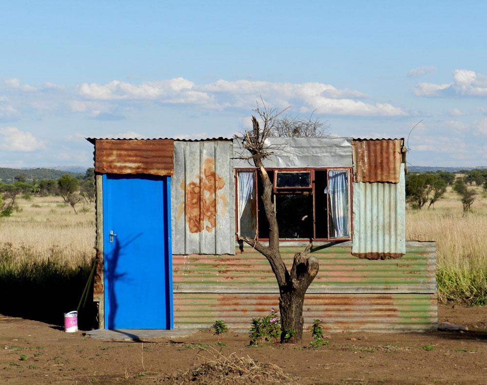 Home Behind the Blue Door