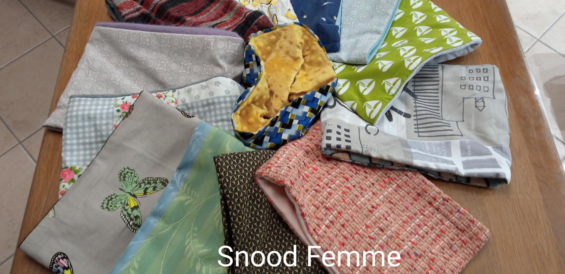 Snood femme