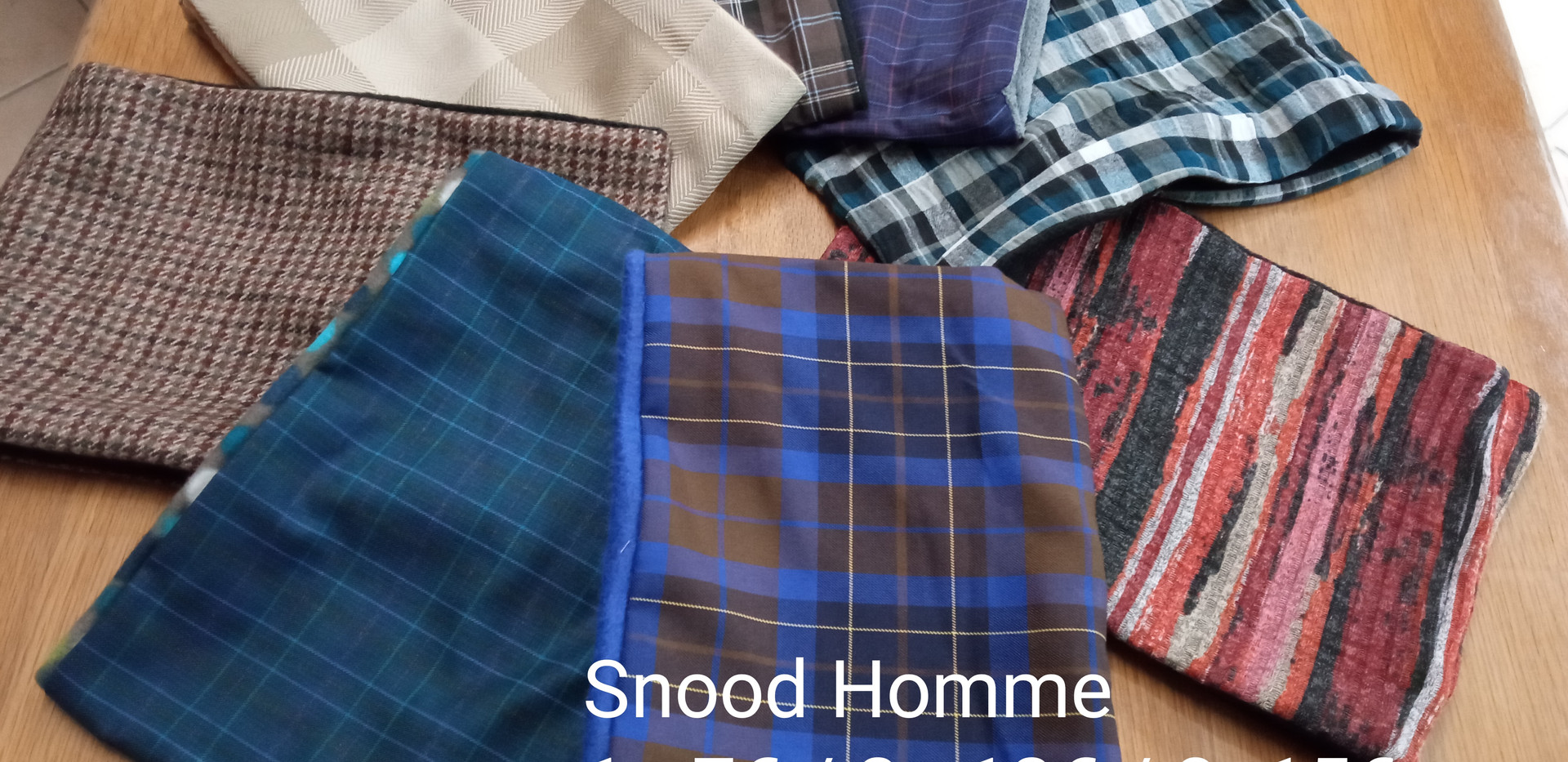 Snood homme