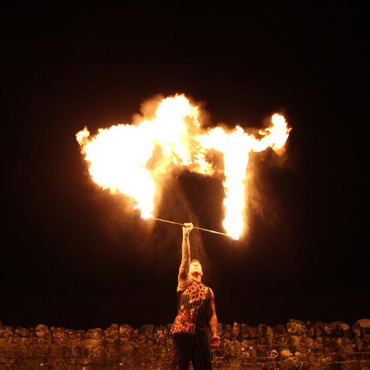 Flame Thrower at The Coppleridge Inn