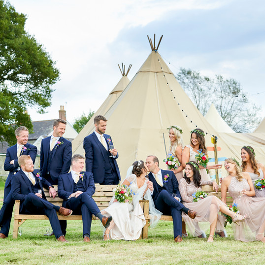Tipi Wedding at The Coppleridge