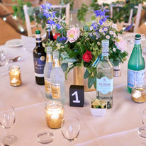 Wedding Table Lay at The Coppleridge