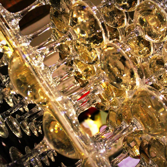 Champagne Tower at The Coppleridge Inn