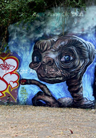 """ET"" muraliste#grand format#friche"