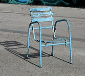 Piscine Molitor Anne Olofsson chaise