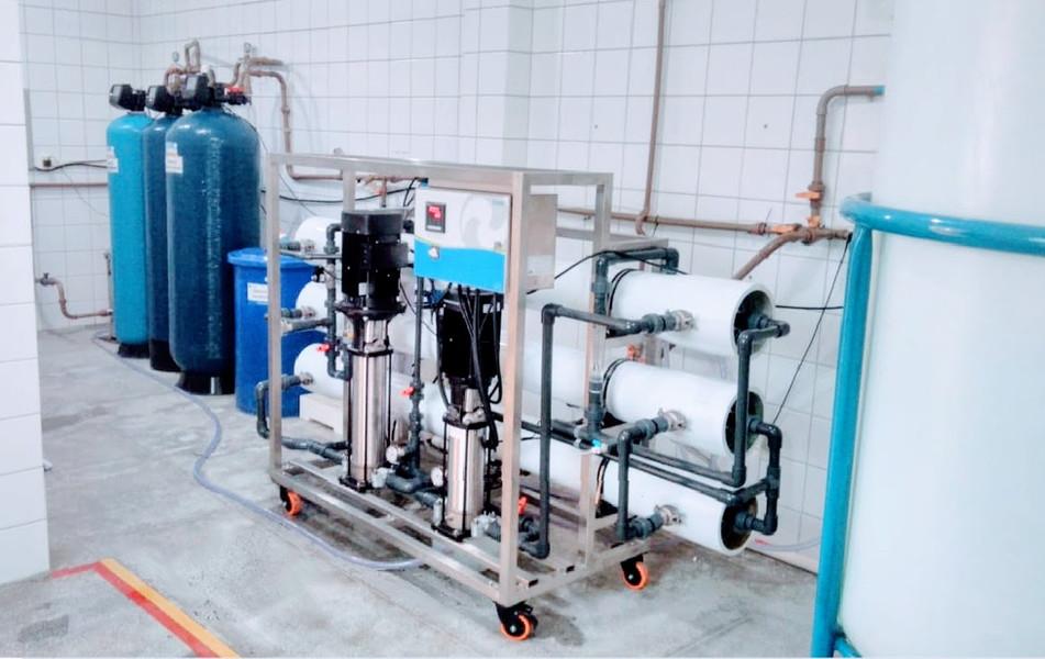 Instalação em clínica de hemodiálise na BA - 5000 litros/hora