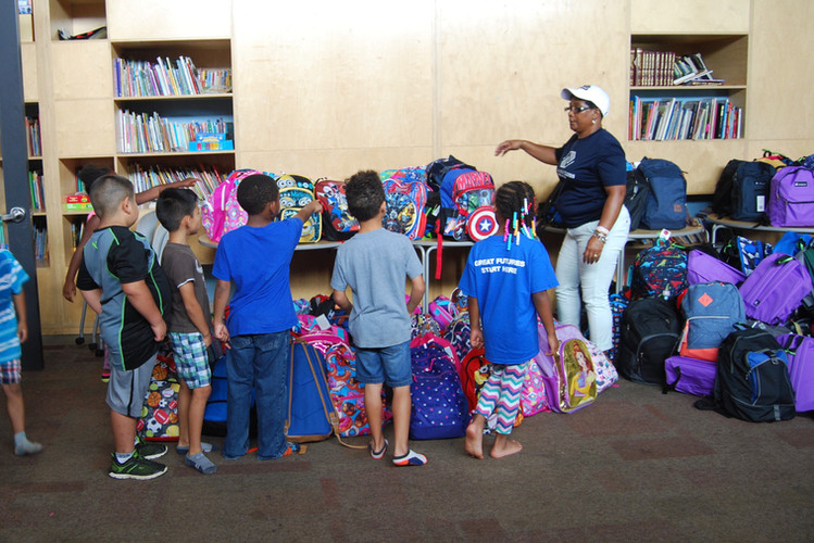 Backpack Buddies Distribution 2017