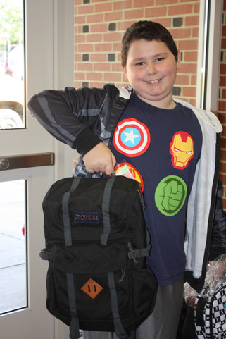 Backpack Buddies Distribution 2019