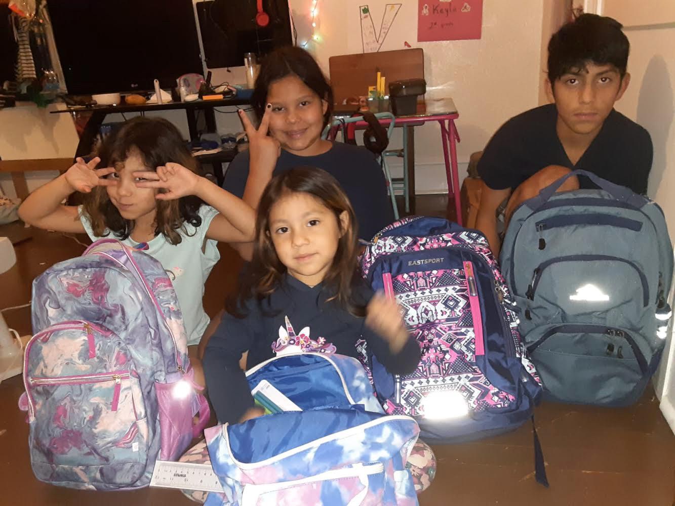 Backpack Buddies Distribution 2020