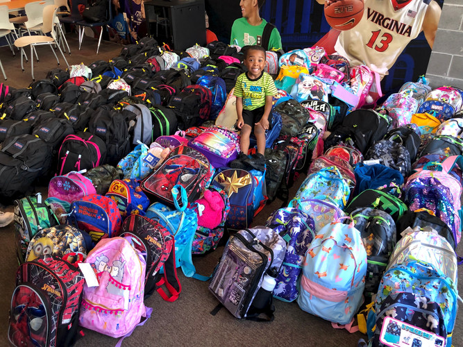 Backpack Buddies Distribution 2019