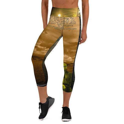 Yoga Capri Leggings Where two principles