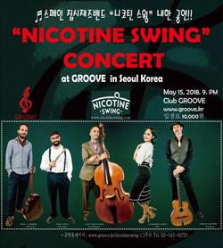 Nicotine Swing GROOVE Concert