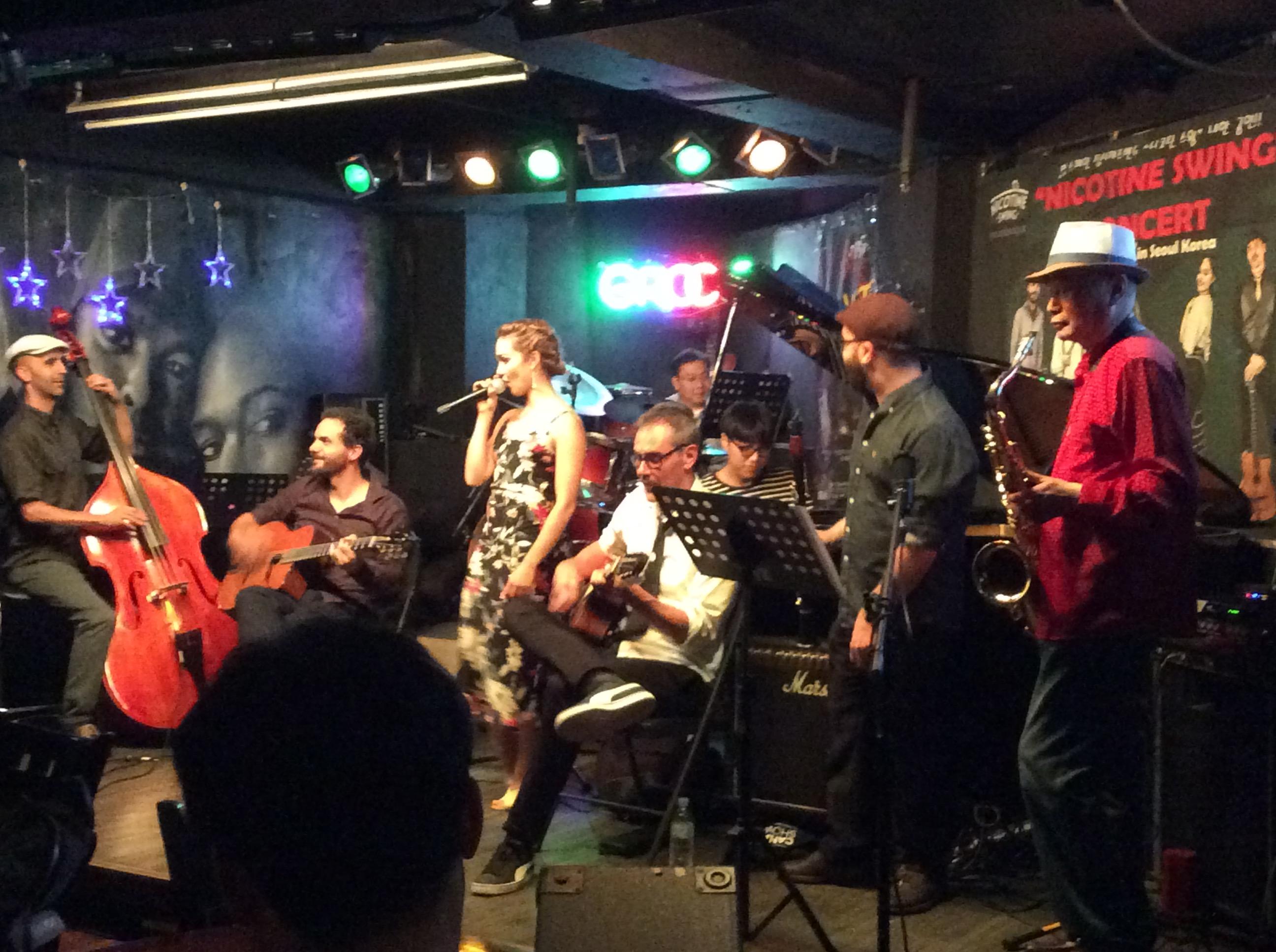 스페인 재즈밴드와 잼세션