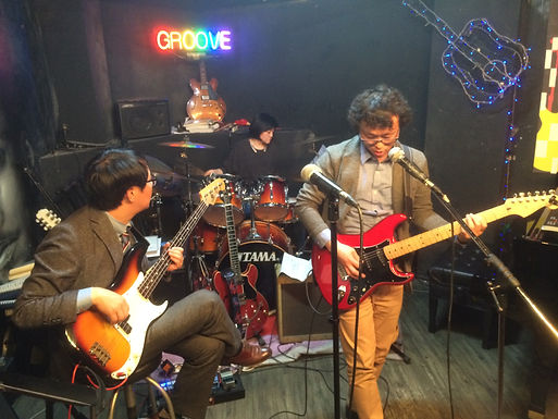 GROOVERS BAND 클럽공연