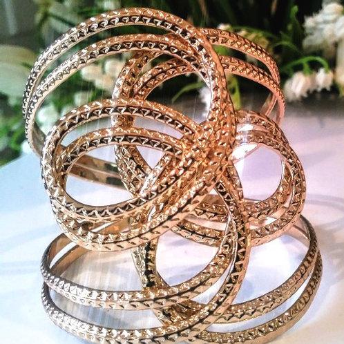 Gold Swirl Bracelet