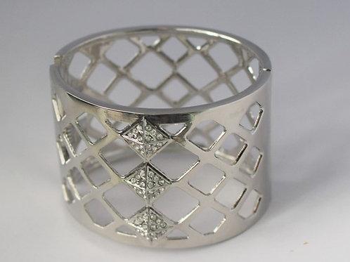 Silver Cut Out Bracelet