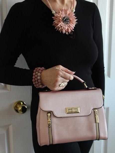 York Bag in Pink Pearl