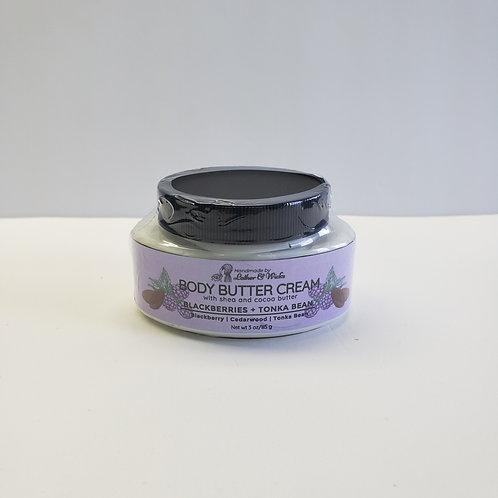 Blackberries + Sage Body Butter Cream