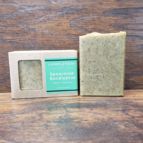 Spearmint Eucalyptus Body Bar