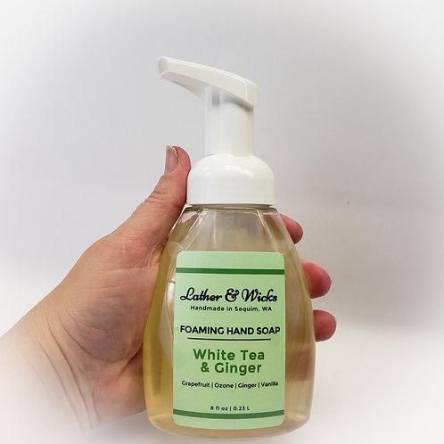 White Tea & Ginger Foaming Hand Soap