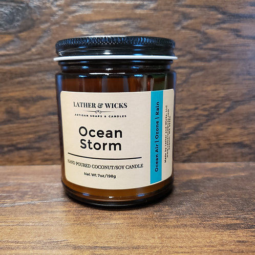 Ocean Storm Coco/Soy Candle