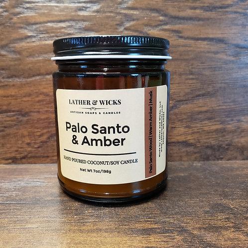 Palo Santo & Amber Coco/Soy Candle