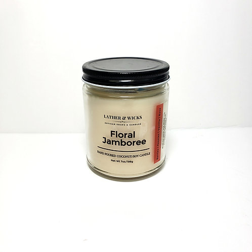 Floral Jamboree Coco/Soy Candle