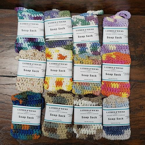 Handmade Soap Sack