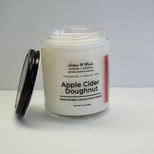 Apple Cider Doughnut Coco/Soy Wooden Wicked Candle