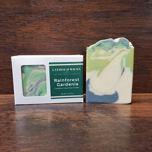 Rainforest Gardenia Body Bar